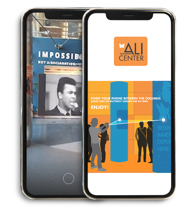 The Muhammad Ali Experience in Augmented Reality