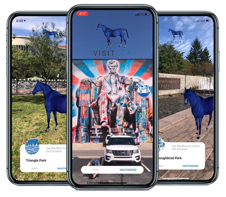 VisitLex Augmented Reality Experience